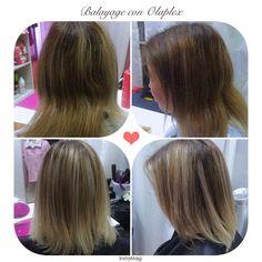 Balayage con Olaplex javianabeauty olaplexvalparaiso instagramchile cabellohermoso valparaíso hairinspiration