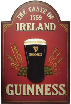 Guinness Signs A nice collection of Guinness pub signs. All are a wood composite pub sign and are ready to hang. Pub Signs, Beer Signs, Shop Signs, Ireland Pubs, Irish Eyes Are Smiling, Irish Roots, St Paddys Day, Luck Of The Irish, Best Beer
