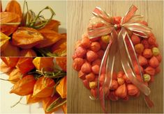 Exceptional and creative deco ideas for fall with physalis Rama Seca, Fresco, Decoration Plante, Color Naranja, Fall Deco, Autumn Cozy, Chinese Lanterns, Fall Wreaths, Easy Crafts
