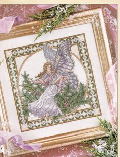 CCS  Winter Fairy Cross Stitch Chart  by BusyBeaverBoutique
