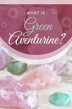 """Green Aventurine crystal meaning. Green Aventurine's name comes from the word """"aventurescence."""" A unique term exclusively used in gemology, it refers to stones containing tiny metallic, glittery sparkles. The sparkle of the jewel comes from particles of iron-rich mica, called fuchsite. Many people confuse it with jade, although the chemical makeup of the two stones is entirely different. Chakra For Beginners, Meditation For Beginners, Meditation Crystals, Healing Crystals, Healing Stones, What Is Green, Crystal For Anxiety, Chakra Healing, Green Aventurine"""