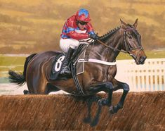SPRINTER SACRE Limited Edition Horse Racing Print by Equestrian Artist Peter Smith