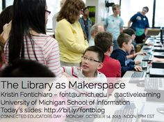 The Library as Makerspace