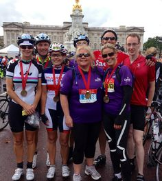 Premier Pensions take on The Prudential RideLondon-Surrey 100 #cycling #fundraising #nursing #midwifery