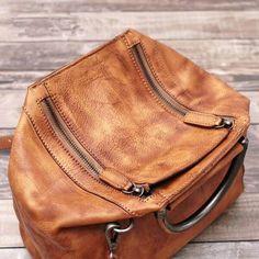 Handmade Leather Messenger Bags, Purse, Women Handbags, Vintage Satche - EchoPurse