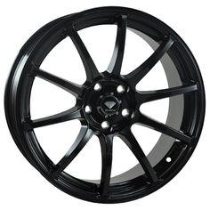 Enkei Black Wheels For Sale & Enkei Rims And Tires Rims For Cars, Rims And Tires, Wheels And Tires, Vw Cars, Mazda 3 2008, Mazda Mx, Black Rims, Matte Black, Black Silver