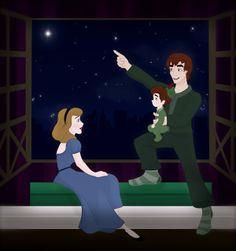 Peter Pan, Wendy e Charlie