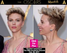 Scarlett Johansson's 'Rockabilly Chic' Hairstyle At The Oscars — Get The Look