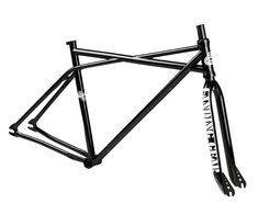 """SE Racing Quad Fix Single Speed/Fixed Frameset2012 Model (Yes we have them) Fully Heat Treated Post Welding Quadangle Frame Design, Mid BB, Ovalized & Tapered Chain & Seat Stays, Sealed Integrated Headset, 5mm Thick Dropouts Integrated Seat Clamp. Accepts 700c Wheels with 100mm front and 120mm rear spacing. 14mm Frame Dropouts with 3/8"""" Adapters. Cutout …"""
