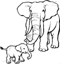 elefant ausmalbild 08