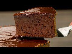 Čokoládový dort ze dvou ingrediencí. Nejlepší čokoládový dort bez mouky. | Chutný TV - YouTube Biscuits Au Cacao, Baby Shower Cookies, No Cook Desserts, New Years Eve Party, Banana Bread, Food Videos, Brownies, Sweet Tooth, Healthy Recipes