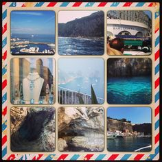 Capri #bluegrotto #grottobianca #anacapri