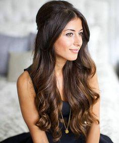 Dark Black And Brown Auburn Hair Color
