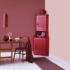 Bildresultat för ceriserosa tapeter Decor, Furniture, Home Decor, Mirror