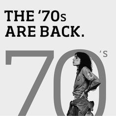 The '70s Are Back