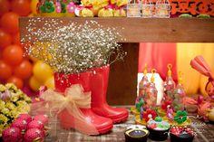festa hand made como decorar festas em casa blog vittamina galochas com flores tema jardim