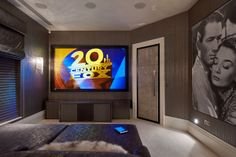 Cinema room © Hill House Interiors