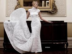 Modest Long Sleeved Wedding Dresses - http://dressesdesign.net/63-modest-long-sleeved-wedding-dresses.html : #ClassicDresses Sleeved wedding dresses based on Vera Wang designs these days are looking modest with a touch of modern contemporary style to make sure in matter of vintage theme. Sleeved wedding gowns have always been taking place as one of most favorite dresses for wedding ceremony in vintage theme. Sleeved...