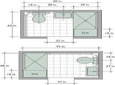 Image result for small shower room plans