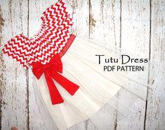Childrens sewing pattern PDF, Girls sewing pattern, Childrens clothing, Girls dress pattern, Easy beginner, The Tutu Dress via Etsy