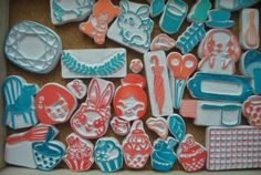 My Tresure ,eraser stamp by hajy kawaii Homemade Stamps, Eraser Stamp, Stamp Carving, Fabric Stamping, Classroom Crafts, Toddler Crafts, Book Crafts, Kawaii, Block Prints