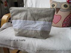Trousse de toilette couture www.handmadebystitch.com