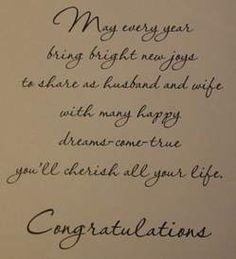 happy Anniversary may all your guys wishes and dreams come true may you live together a hundred years in health and happiness