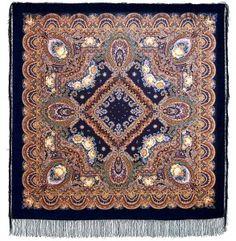 Павловопосадский платок Русское раздолье 1619-15