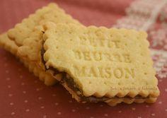 Ricetta biscotti al burro farciti con nutella, Petit Beurre Maison