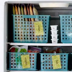 Arca frigorifica organizada