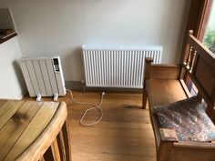 Out with the electric heater, in with the hydronic heater Hydronic Heating, Heating Systems, Radiators, Melbourne, Electric, Home Appliances, House Appliances, Radiant Heaters, Appliances
