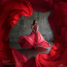 My Red Dress by mikedarzi