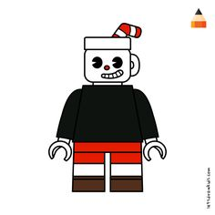 #cuphead Working With Children, Drawing Tutorials, Cartoon Drawings, Coloring Books, Lego, Darth Vader, Make It Yourself, Mini, Fictional Characters