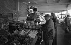 Maraîcher au marché de Talensac