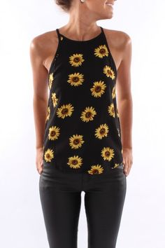 Dare To Dream Sunflower - Tops - Shop by Product - Womens