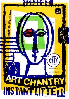 Art Chantry, 1990 29 Low Tech Seattle 1985Present