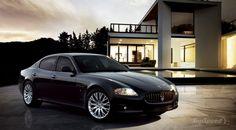 Maserati Quatroporte. What a classy car.