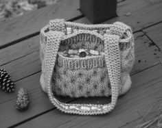 gestrickte Tasche.  (All Rights Reserved).
