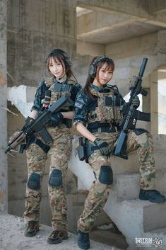 Guns are awesome, girls are awesome, and the two combined together nearly defies the laws of all things awesome.