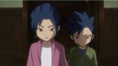 Inazuma Eleven GO, Tsurugi brothers, Kyousuke and Yuuichi