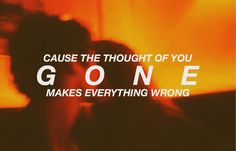 Quote // song // music // lyric // edit // alternative // rock // gone // wrong // life