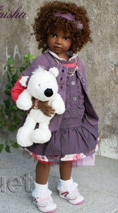 Anisha - Angela Sutter Doll