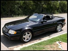 2001 Mercedes-Benz 500SL Convertible