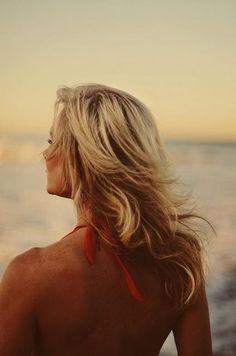 Secrets for mastering the wavy beach hair? #beallsflorida #thebeachlife