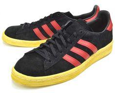 adidas ORIGINALS CAMPUS 80S MITA [BLACK/UNIVERSITY RED/CHALK2] (G63525)