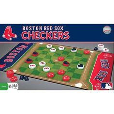 MLB Boston Red Sox Team Checkers