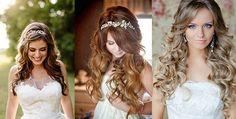 cabelos penteados soltos - Pesquisa Google