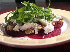 Vegetarisch recept: Carpaccio van rode biet