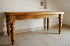 グレートオールドパインファームハウステーブル|RUSTIC TWENTY SEVEN