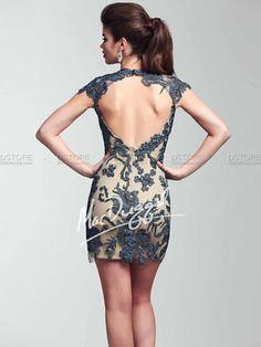 Vestido de Festa Curto em Renda Angelica 61820 : Dstore, As Melhores Grifes dos EUA - Site Oficial